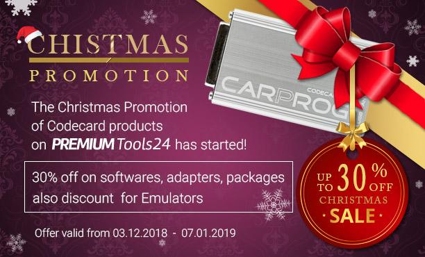 Carprog Christmas Sale 2018