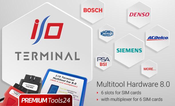 I/O TERMINAL MULTITOOL HARDWARE 8.0