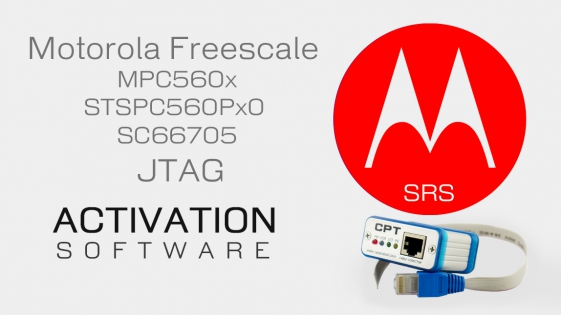 Motorola Freescale MPC560x, ST SPC560Px0, SC66705 activation for CarProTool