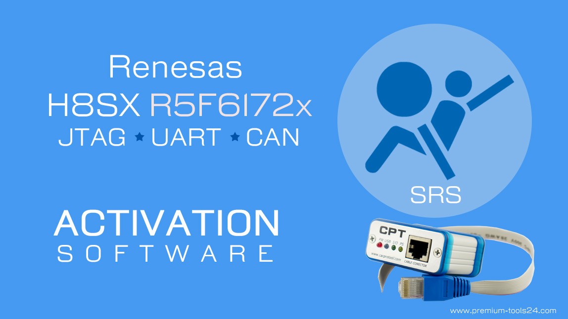 Renesas H8SX R5F61797 JTAG UART CAN - Activation for CarProTool