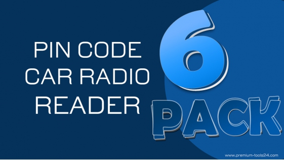 Car Radio Promo 6 Pack