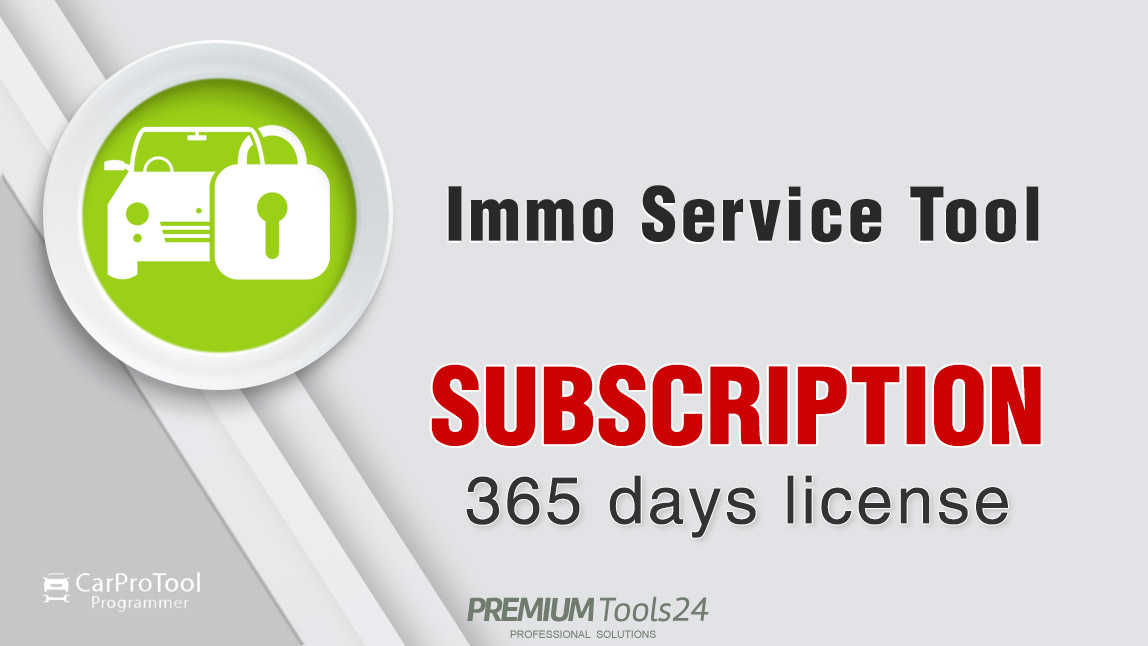 Immo Service Tool - Subscription for 1 year