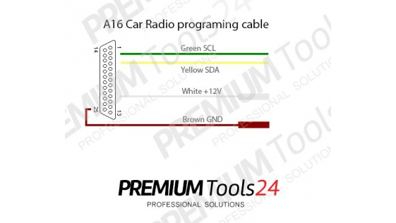 A16 – Car Radio Programming Adapter