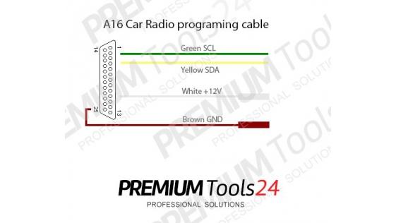 A16 – Car Radio Programming Adapter