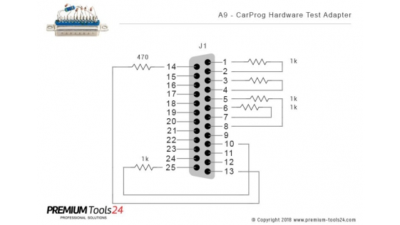 A9 - CarProg Hardware Test Adapter
