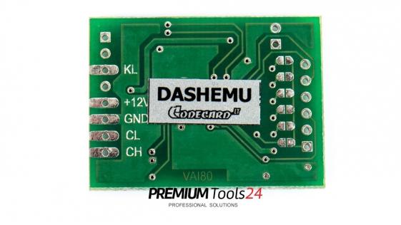 DASHEMU - PLUG OBD2 with micro switch (Codecard)