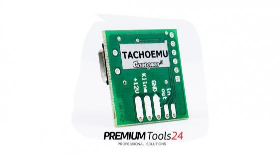 Tachoemu (Codecard)  Fiat, Peugeot, Citroen tachograph skip emulator