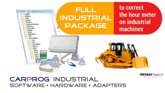 Industrial Full Pack  to correct the hour meter on industrial machines