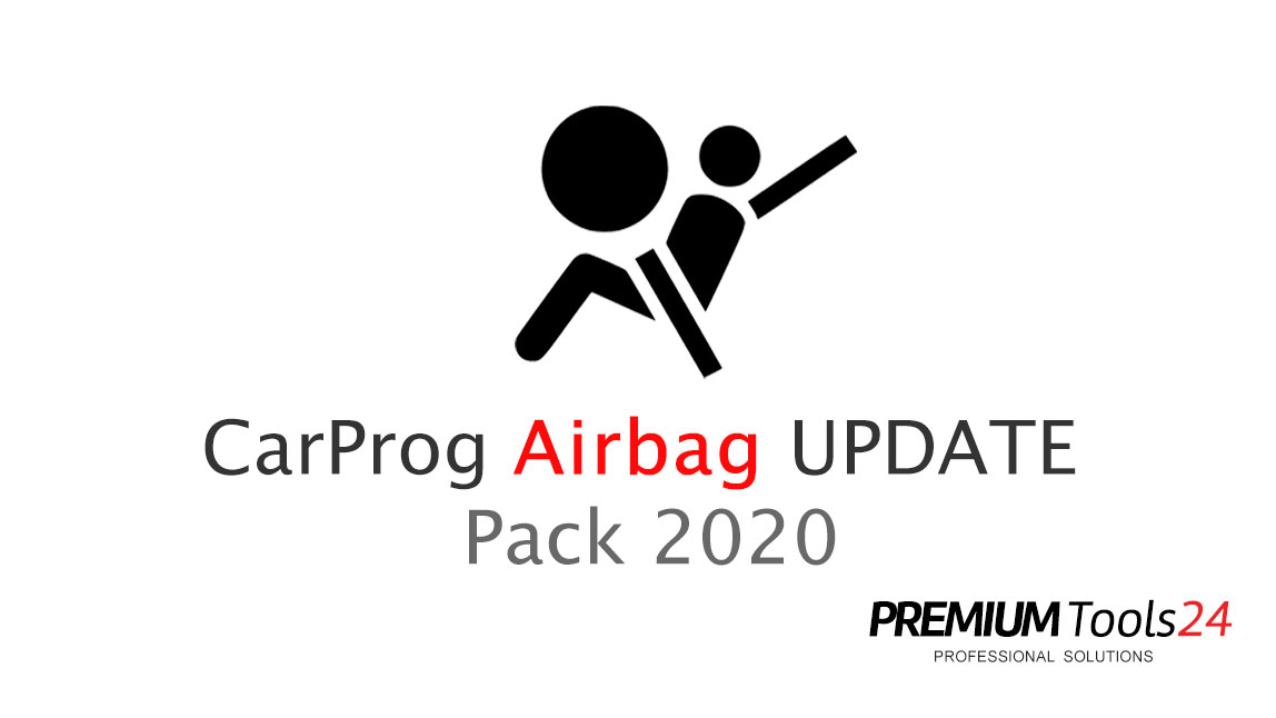 CarProg Airbag UPDATE Pack 2020