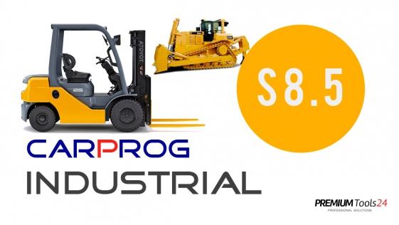 S8.5 - 2019 Industrial equipment hour meter programming software update for CarProg