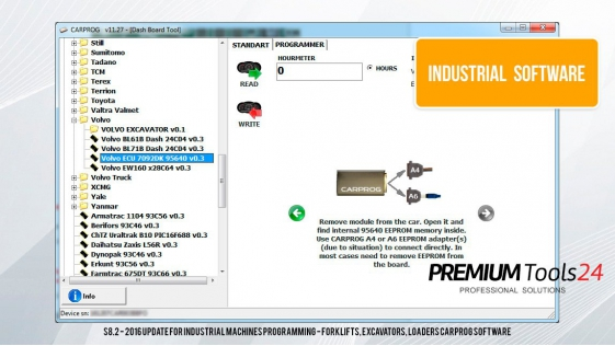 CarProg Industrial Software Pack