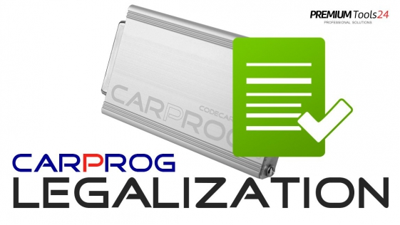CarProg Clone LEGALIZATION to FULL version