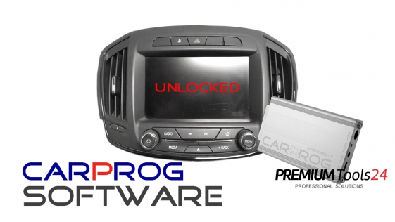 CarProg software to unlock Opel, GM, Chevrolet car radio and navigation by OBDII