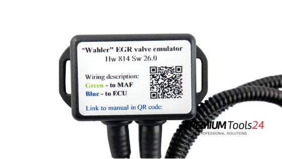 EGR valve emulator - OPEL-SAAB