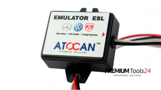 Emulator ESL - Mercedes, VW Crafter, Dodge Sprinter