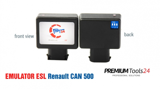 Emulator ESL Renault CAN500 ver.2