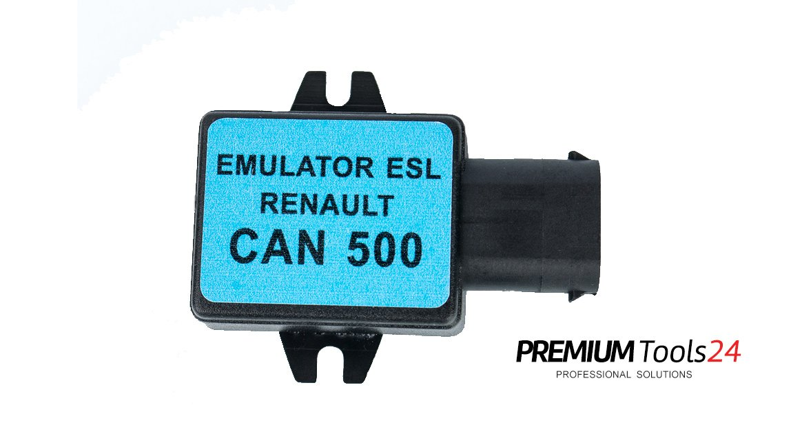 Emulator ESL Renault CAN500