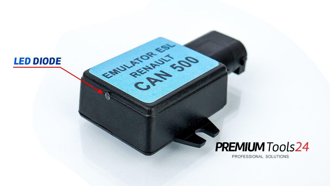Emulator ESL Renault CAN500