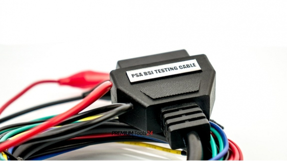 Adapter PSA BSI for bench testing for I/O TERMINAL