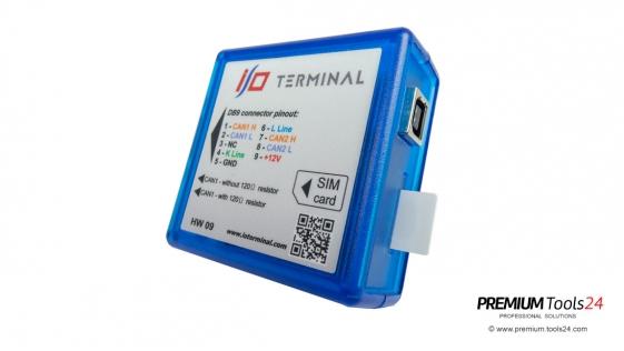 I/O TERMINAL HARDWARE HW 9.0