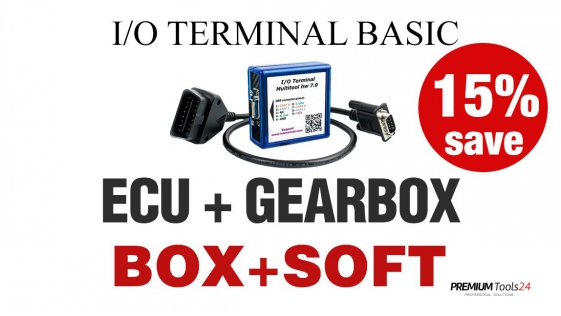 I/O TERMINAL SET (ECU + GEARBOX SOFT.)