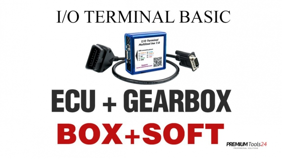 I/O TERMINAL BASIC PACKAGE (ECU + GEARBOX)