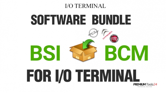 SOFTWARE BUNDLE BSI/BCM FOR I/O TERMINAL