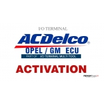 SOFTWARE MULTI TOOL - OPEL/GM ACDELCO ECU FOR I/O TERMINAL