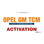 SOFTWARE MULTI TOOL - OPEL/GM TCM FOR I/O TERMINAL