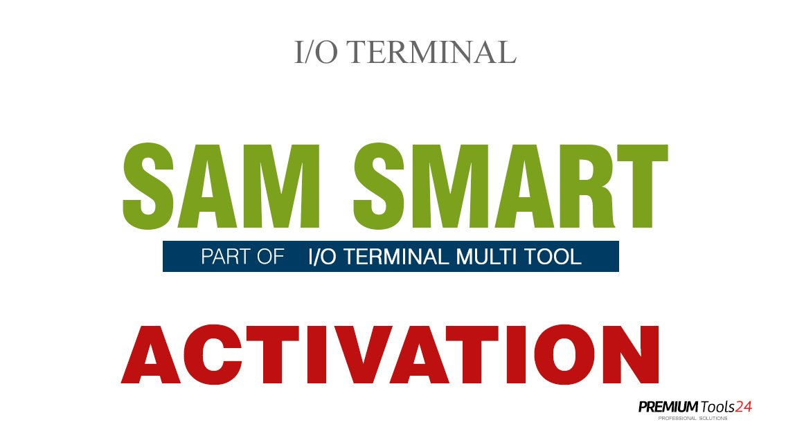 SOFTWARE MULTI TOOL  - SMART SAM FOR I/O TERMINAL
