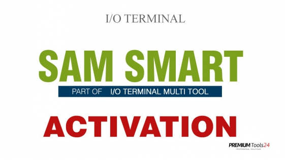 SOFTWARE MULTI TOOL  - SMART SAM FOR I/O TERMINAL