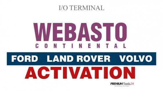 WEBASTO CONTINENTAL FORD, LAND ROVER, VOLVO