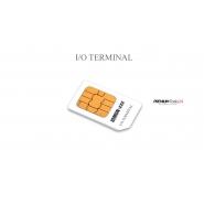 I/O TERMINAL blank SIM card