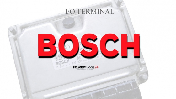 SOFTWARE BOSCH ECU FOR I/O TERMINAL