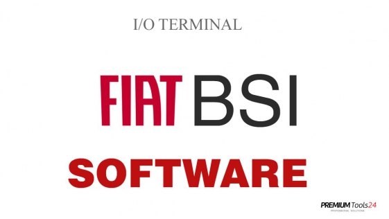 SOFTWARE FIAT BSI FOR I/O TERMINAL