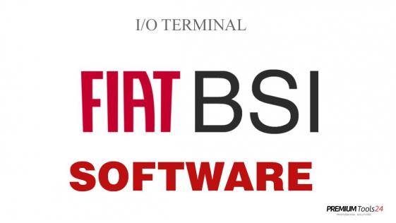 SOFTWARE FIAT BSI FOR I/O TERMINAL