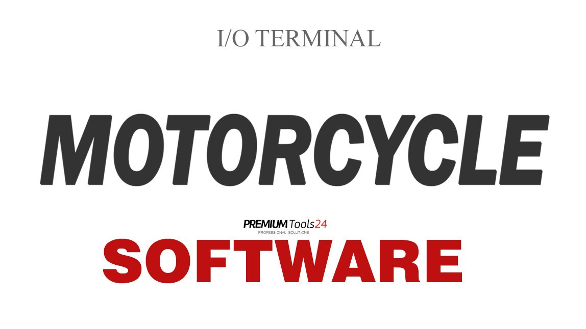 SOFTWARE MOTORCYCLE ECU TOOL1 FOR I/O TERMINAL