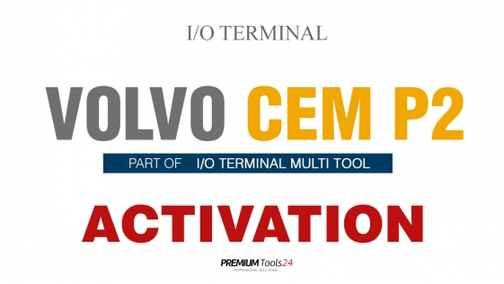 SOFTWARE MULTI TOOL - VOLVO CEM P2