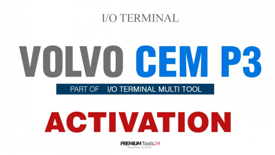 SOFTWARE MULTI TOOL - VOLVO CEM P3