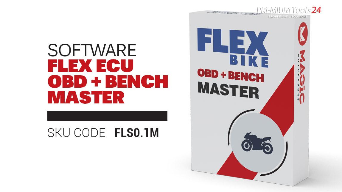 Flex software package Bike ECU OBD + Bench Master