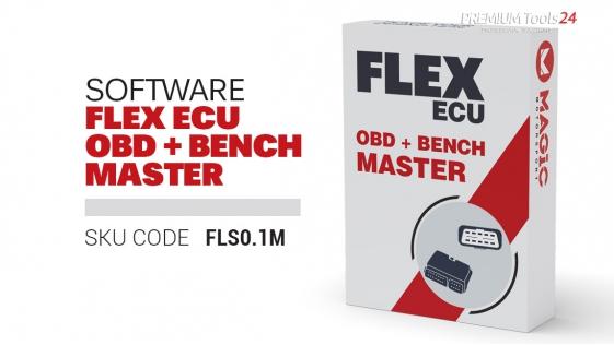 Flex software package  OBD + Bench Master