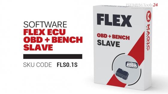 Software Flex ECU (cars, vans, bikes) OBD + Bench Slave
