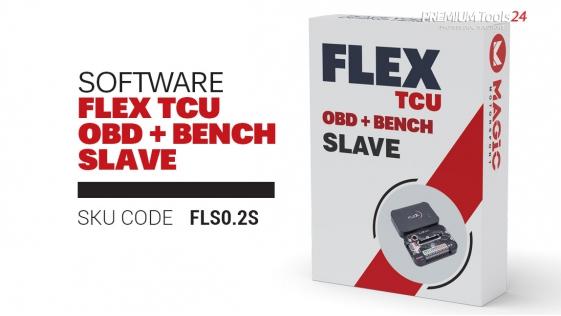 Flex software package TCU OBD + Bench SLAVE