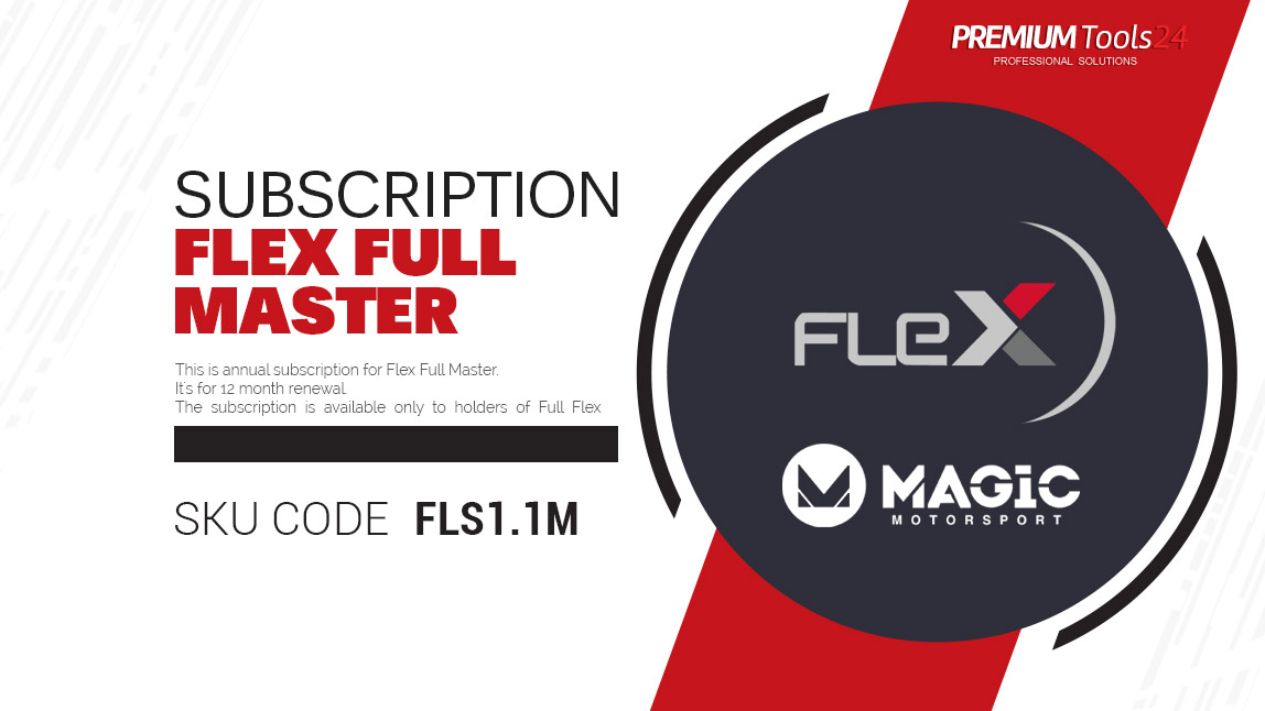 Subscription Flex Full Master - 12 month renewal