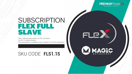 Subscription Flex Full Slave - 12 month renewal
