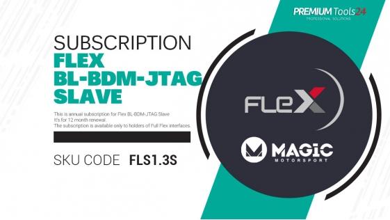 Subscription Flex BL - BDM - JTAG Slave - 12 month renewal
