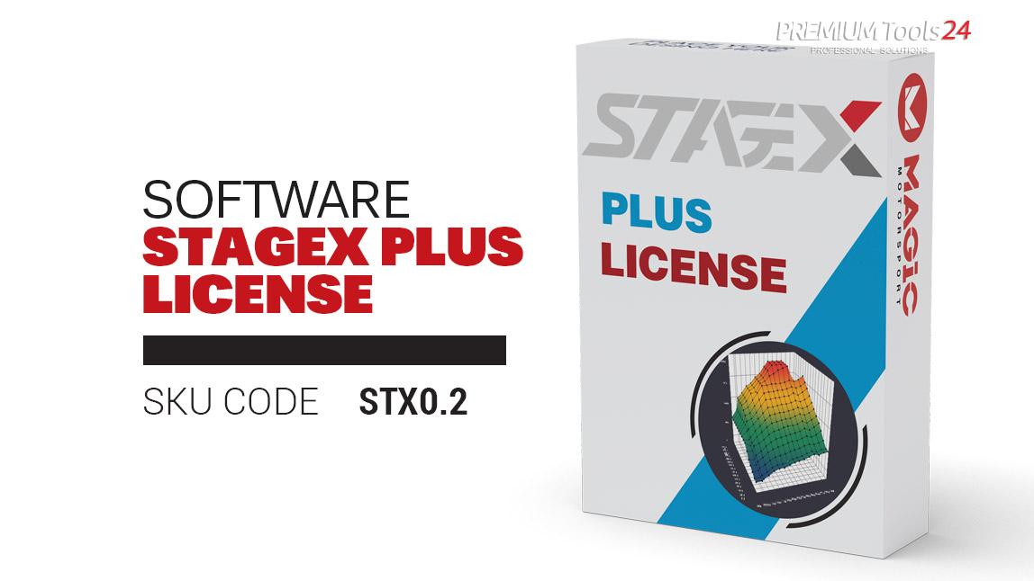 StageX PLUS Software License