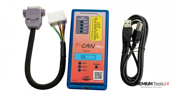 T-CAN Tool for Tesla S and X