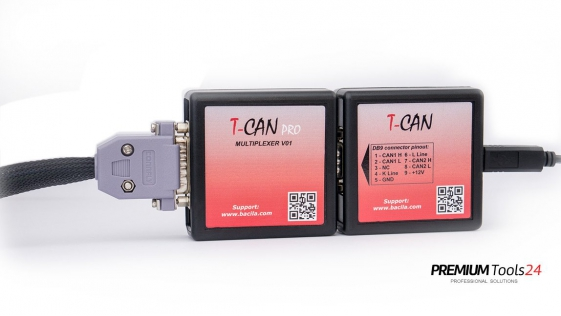 T-CAN Tool for Tesla S