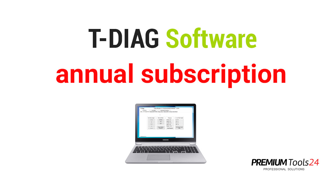 T-Diag - Annual subscription